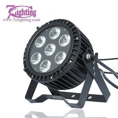 7x15W LED Flat PAR RGBWA IP65