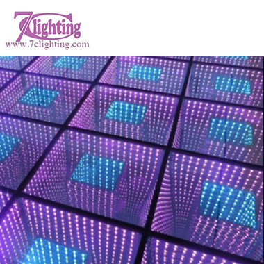 3D Infinity Mirror LED Dance Floor 2
