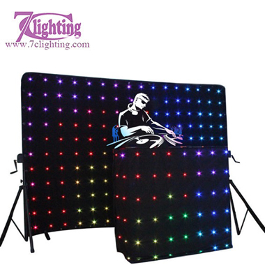 DJ Booth LED Curtain