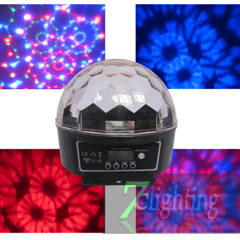 2012 LED Crystal Magic Ball Pattern Effect