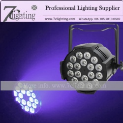 18x18W LED PAR RGBWA+UV