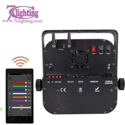 9 RGBWA+UV Battery LED Par DMX 2.4GHz WiFi