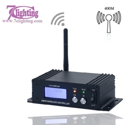 2.4G Wireless Dmx Receiver Transmitter LCD