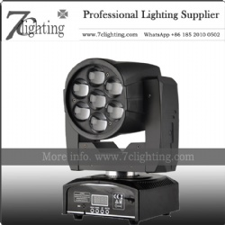 7x12W Zoom Moving Head