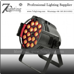18x18W Zoom LED PAR Wash Light