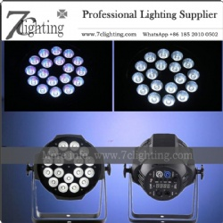 18x18W LED PAR Light Powercon