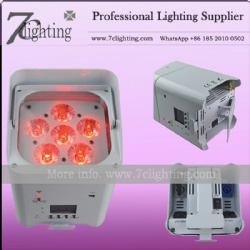 Battery Uplighting Par 6 for Wedding